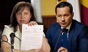 Экс-директор Центрального рынка просит Кодряну уволиться.
