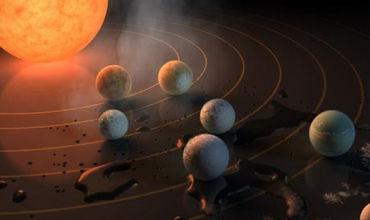 სენსაცია: NASA-ს აღმოჩენილი 7 პლანეტიდან 3-ზე სიცოცხლის არსებობას ვარაუდობენ