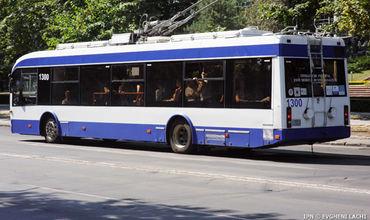 Все троллейбусы, чьи маршруты проходят по бульвару Штефана чел Маре будут перенаправлены на улицу Букурешть.