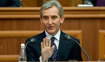 Кандидат на пост президента Молдовы, лидер ЕНПМ Юрие Лянкэ.