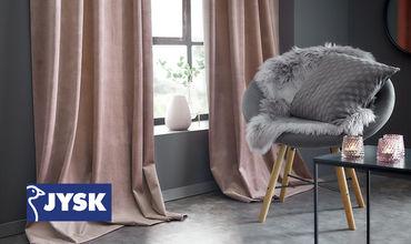 Обновите интерьер своей гостиной без больших денежных затрат вместе с JYSK.