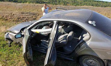 ДТП с участием BMW: у машины оторвало двигатель и колеса.