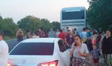 Молдавских туристов отправили в Болгарию на автобусе с неисправным кондиционером
