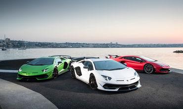 Эволюцию Lamborghini Aventador показали в шестиминутном ролике