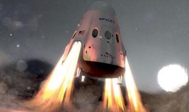 SpaceX назвала места посадки марсианского корабля.