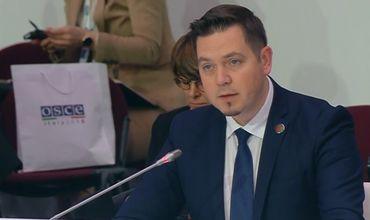 Министр иностранных дел и европейской интеграции Тудор Ульяновски.