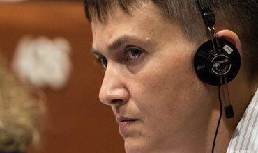Голодающая Савченко уехала в США на званый ужин.