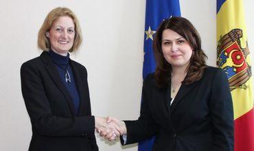 Вице-премьер Кристина Лесник провела встречу с послом Великобритании