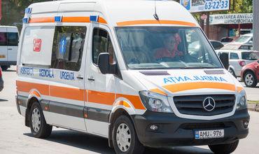 Мужчина в Унгенах умер за рулем автомобиля.