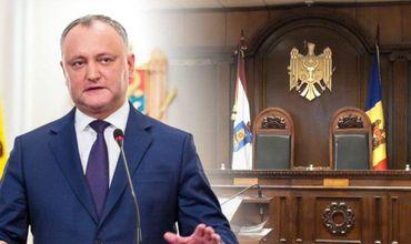 Додон: В ближайшее время появится новый состав КС Молдовы