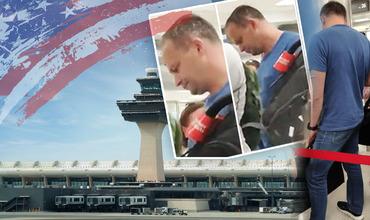 Андриана Канду заметили в аэропорту Вашингтона