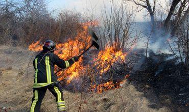 По данным ГИЧС, только за последние 24 часа было охвачено огнем более 130 гектаров земли по всей стране.