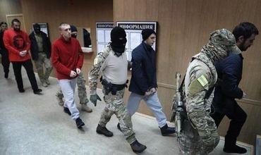 """25 ноября 2018 года 24 украинских моряка были арестованы по обвинению в """"незаконном пересечении границы РФ""""."""