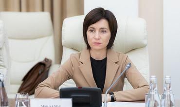 Премьер-министр Республики Молдова Майя Санду.