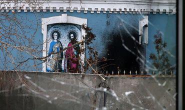 В результате боевых действий в Донецкой, Луганской, Горловской, Северодонецкой и Ровеньковской епархиях девять храмов уничтожены, еще 77 получили повреждения.