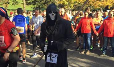 Хэллоуин по-молдавски: Молдавская Смерть на марафоне в Мюнхене (Фото + Видео)