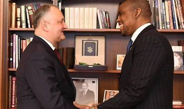 Игорь Додон и Дерек Хоган обменялись мнениями по последним тенденциям во внутренней политике РМ.