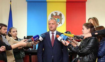 Игорь Додон подал в ЦИК листы с подписями в свою поддержку