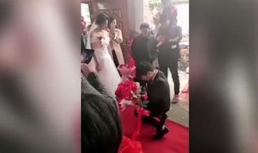 Жительница Китая отказалась выходить замуж во время свадьбы