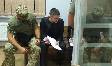 В полночь 16 апреля истек очередной срок содержания Савченко под арестом.