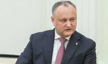 Додон не подпишет указ об отзыве посла республики в России.