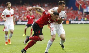 Сборная Швейцарии обыграла албанцев в матче ЧЕ-2016 по футболу
