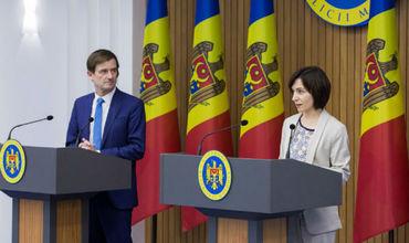 Дэвид Хейл находится с рабочим визитом в Кишиневе в период с 13 по 14 июля.