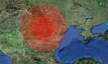 С начала декабря вблизи Молдовы произошло более 10 землетрясений