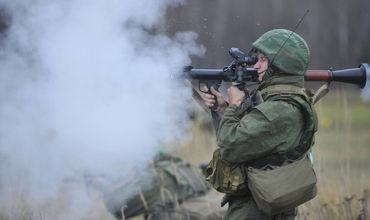 В ходе выполнения упражнений учебных стрельб израсходовано около 300 инертных и более 150 боевых гранат.