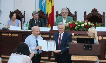В столице состоялось торжественное мероприятие, посвященное Дню Академии наук Молдовы.