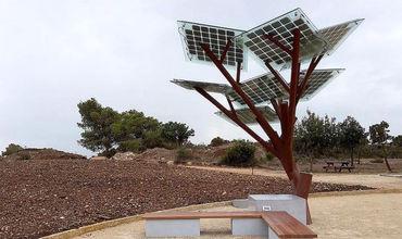 Деревья из солнечных панелей будут производить электроэнергию из возобновляемых источников.