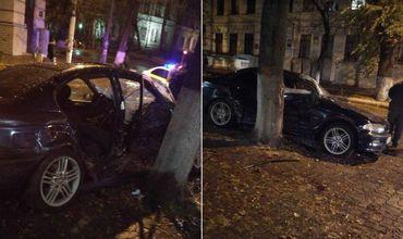 Серьезное ДТП в центре Кишинева: три человека пострадали