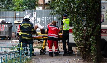 В многоэтажке в Киеве произошел пожар, есть погибшие