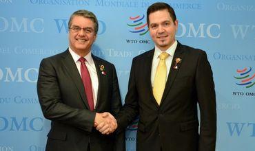 Гендиректор ВТО совершит визит в Молдову