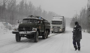 Третья область Украины ввела ограничения на проезд.