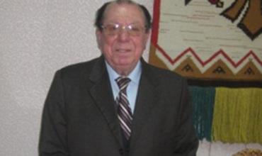 Бессменный руководитель Национального академического ансамбля народного танца «Жок» Владимир Курбет.