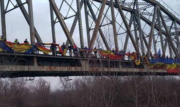 Anul Centenar al Marii Uniri: Un tricolor a legat cele două maluri ale Prutului