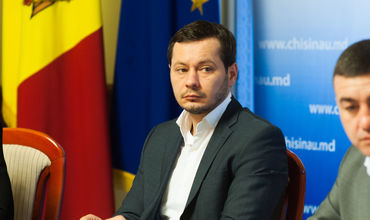 Исполняющий обязанности генерального примара Кишинева Руслан Кодряну.