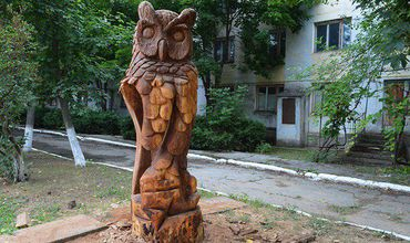 "Скульптуры были выполнены в рамках проекта "" Кагул - Молодежная столица 2018 года""."