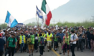 Очевидец рассказал о ситуации с мигрантами на границе Мексики и США