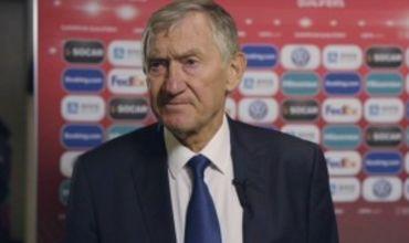 Главный тренер сборной Молдовы Семен Альтман.