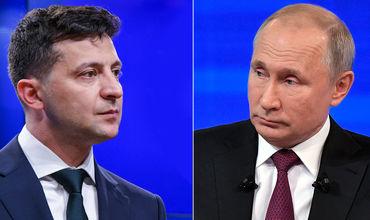 11 июля Зеленский провел телефонный разговор с Путиным.