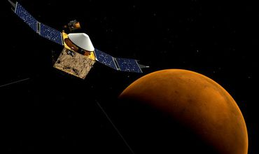 Noi rezerve uriașe de gheață găsite pe planeta Marte