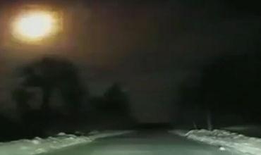 Жители Архангельской области наблюдали яркую вспышку от сгорающего метеорита.