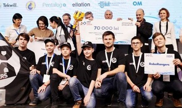 Команда RoboRangers из РМ завоевала I-ое место на First LEGO League Romania 2018