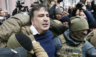 Saakașvili, acuzat de sechestrarea unei comisii parlamentare. Foto: TV8