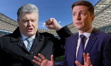 Зеленский призвал Порошенко небегать потелеканалам