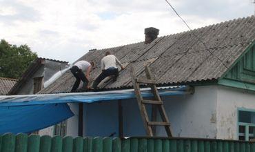 Больше всего пострадали населённые пункты в Унгенском районе.