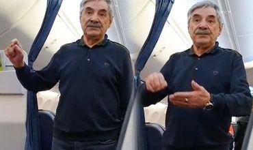 Панкратова-Чёрного сняли с рейса из-за 100 граммов водки