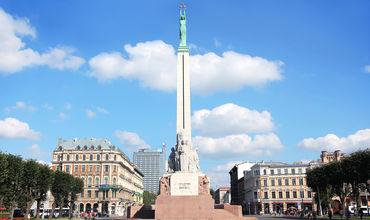 Памятник свободы в Риге был установлен в 1935 году в память о павших борцах за независимость Латвии.
